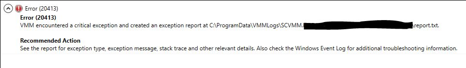 VMM-Host-Deletion-Failure-20413